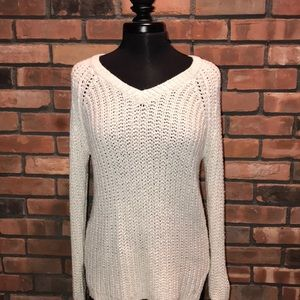 ☁️🍁Glitter Sparkle Soft Knit Fall Sweater Oversiz